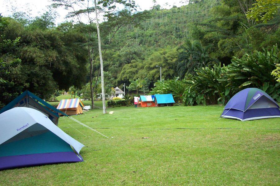 Acampar en Santander