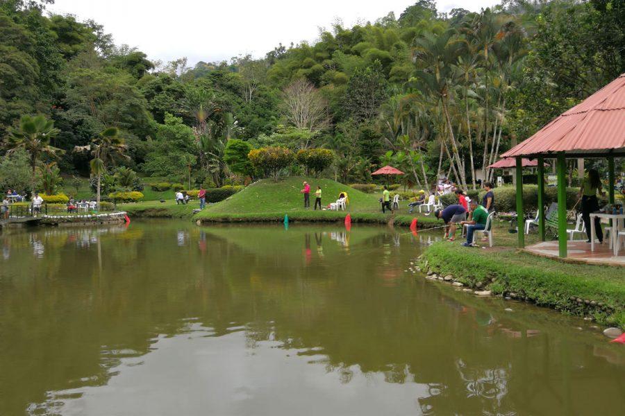 Lagos de Pesca - Bucaramanga