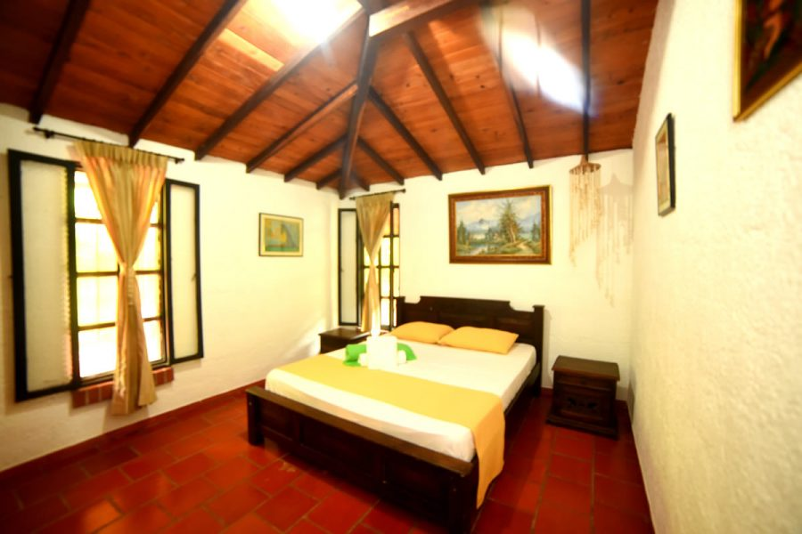 Cabaña Samacá - Habitación Principal