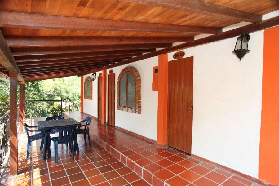 Casa Roja - Pasillo