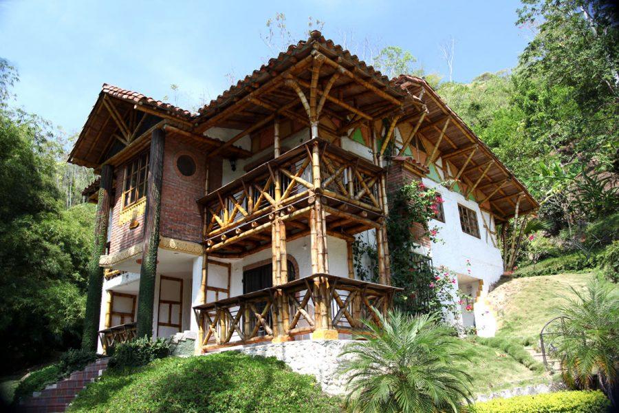 Ecovilla Fachada
