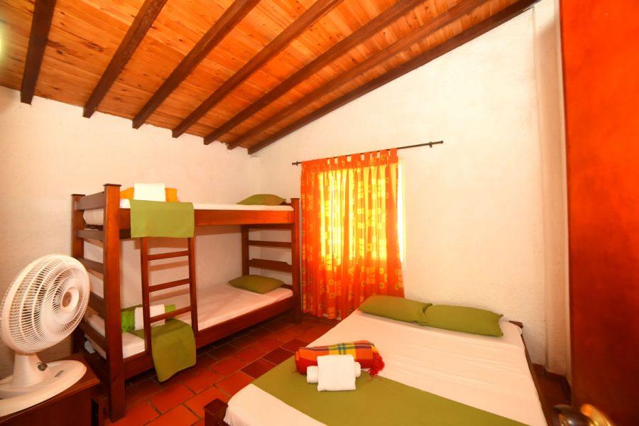 Habitación - Cabaña Mirador de Casa Grande