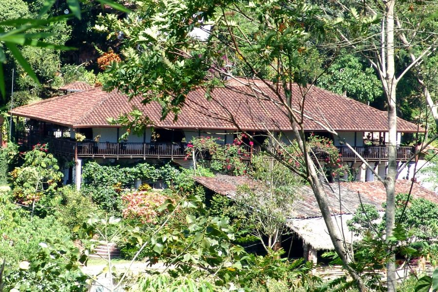Panorámica Restaurante La Hacienda