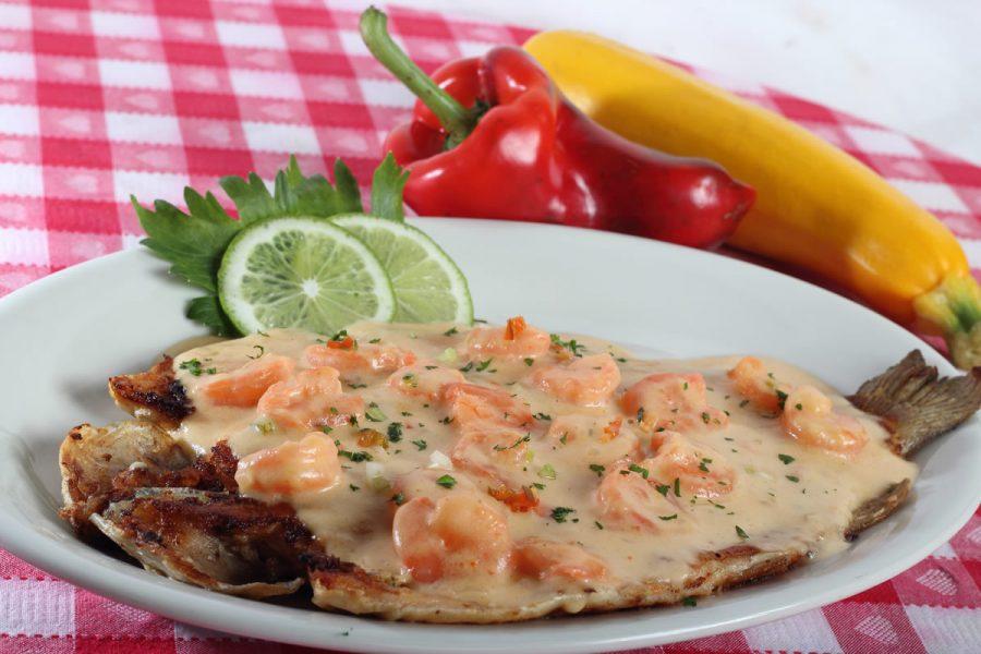 Truchaen camarones - Restaurante La Hacienda