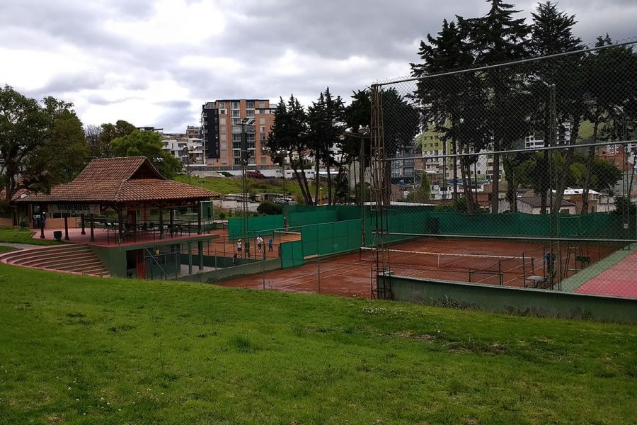 Canchas de Tenis - Club Colombia de Pasto